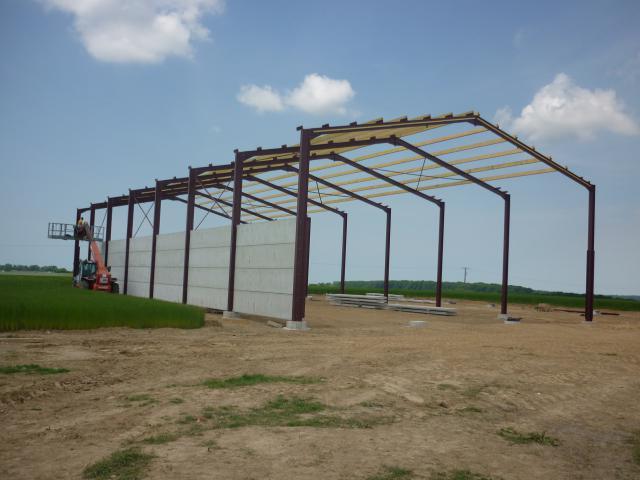 Sarl andr dujardin vente et r paration de mat riel for Construction agricole